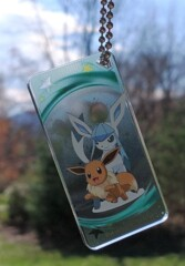 Eevee and Glaceon