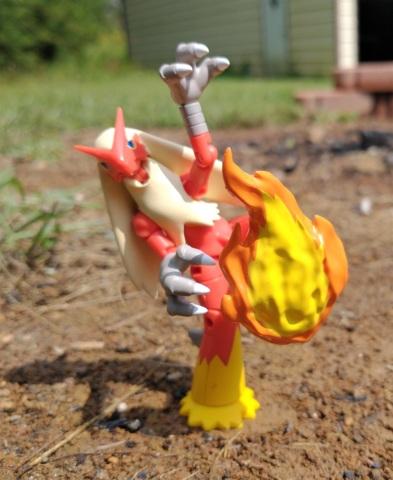 Blaziken (with Blaze Kick) - Shodo Series 3 - 3