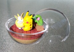 Pikachu and Yamper - EX Galar - 1