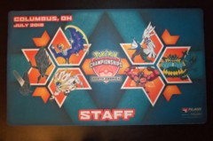 2018 North American International Championships NAIC Columbus Play Mat - STAFF