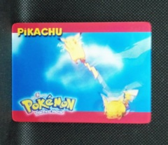 Pikachu - 3 of 5 - Pokemon the First Movie 3D Card