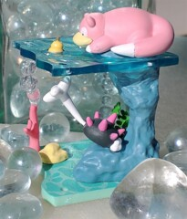 Slowpoke and Pyukumuku - Shining Sea - 3