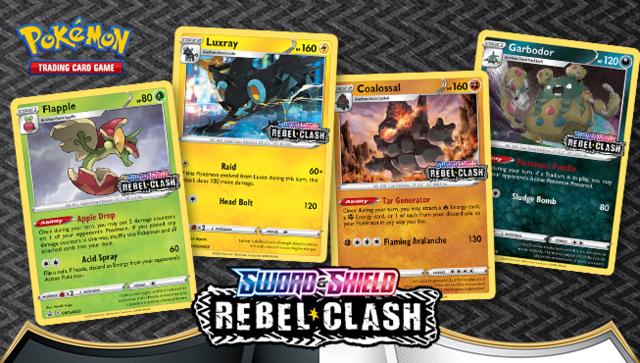 Sword & Shield - Rebel Clash Build & Battle Box