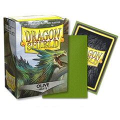Dragon Shield Sleeves: Matte Olive (Box of 100)
