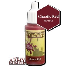 [DEPRECATED] Warpaints: Chaotic Red 18ml