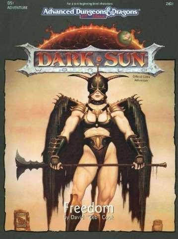 AD&D 2E Dark Sun Freedom Box 2401
