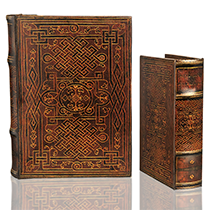 BK-92  Celtic Design Book Box