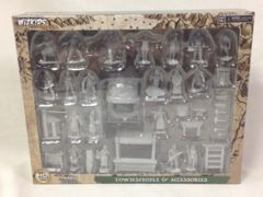 WZK 73698 - Townspeople & Accessories