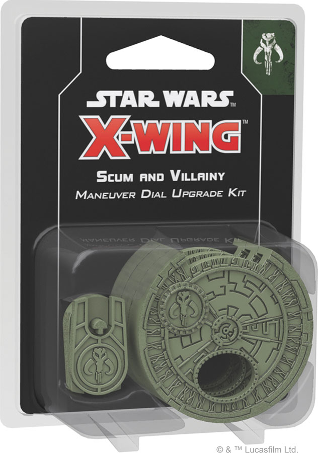 FFG SWZ11 - Star Wars X-Wing (2e) - Scum and Villainy Maneuver Dial Upgrade Kit