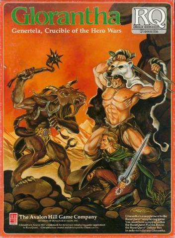 Glorantha - Genertela Crucible of the Hero Wars - Box Set 8585