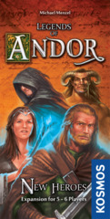 Legends of Andor New Heroes Expansion