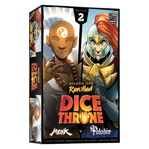 Dice Throne Season One Rerolled - Monk vs Paladin