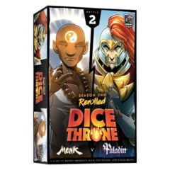 Dice Throne Season One Rerolled - Monk vs Paladin