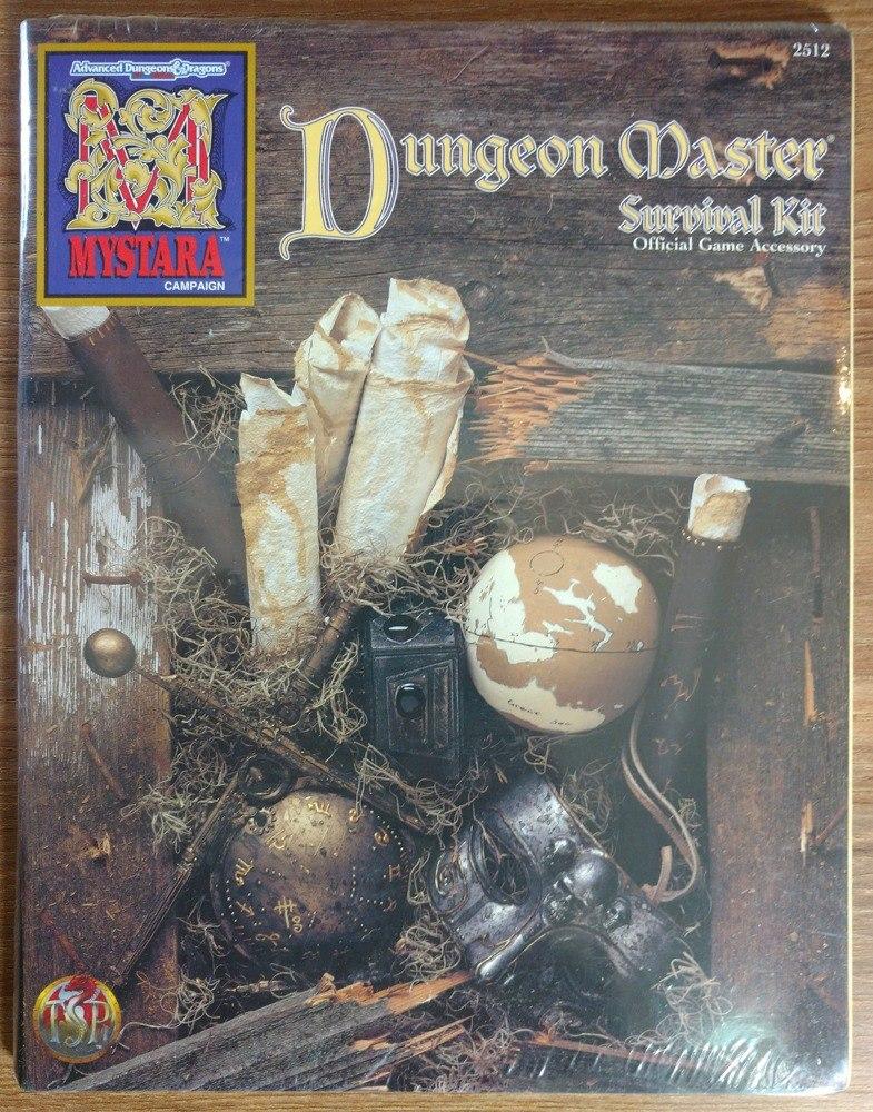 AD&D 2E Mystara Dungeon Master Survival Kit TSR  2512