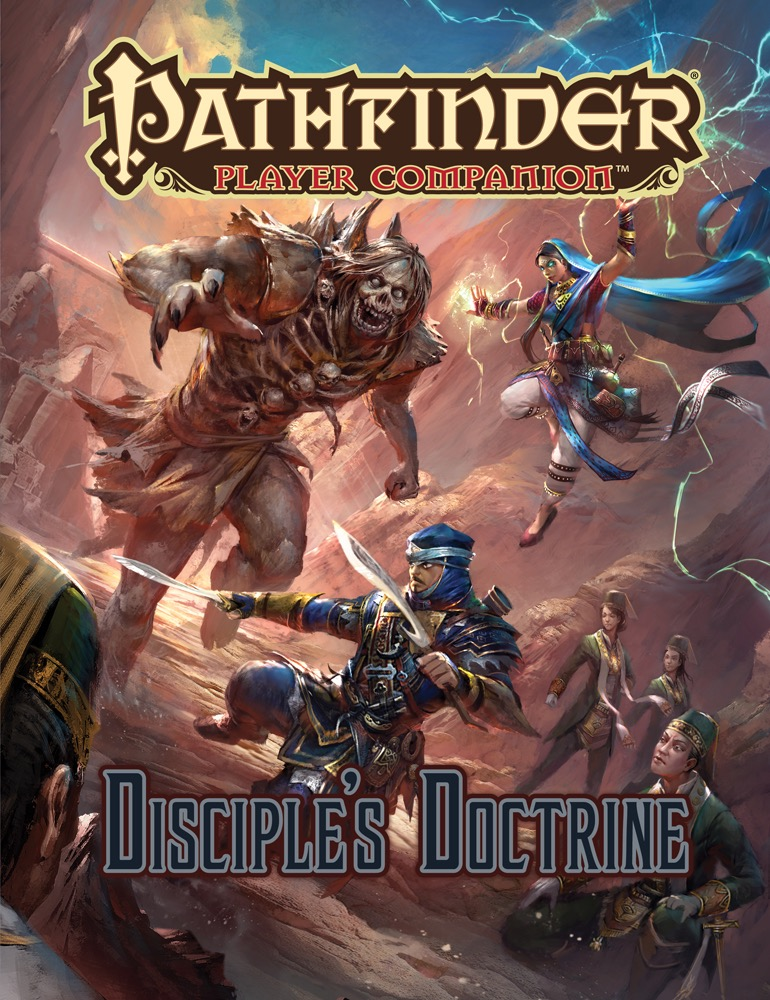 Pathfinder Player Companion - Disciples Doctrine - 9488