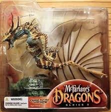McFarlanes Dragons Water Clan 3 Dragon Clan 3 Quest for Lost King NIB