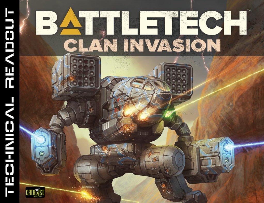 Battletech - Technical Readout - Clan Invasion 35136