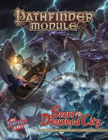 Pathfinder Module: Seers of the Drowned City