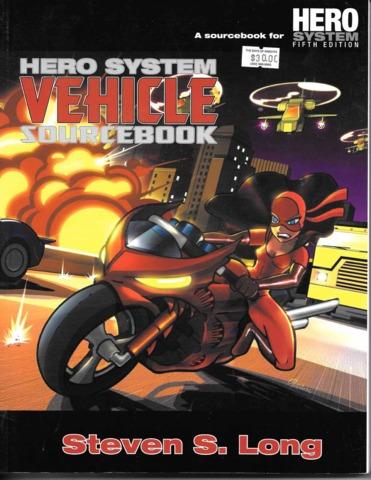 Hero System Vehicle Sourcebook
