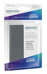Ultimate Guard Undercover Sleeves Grey Japanese Size