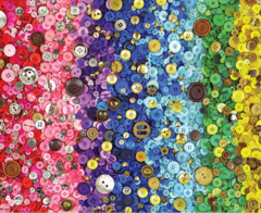 1000pc Bunch Of Buttons