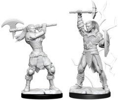 WZK 73834 - D&D Nolzur's Marvelous Unpainted Miniatures: Female Goliath Barbarian (2)