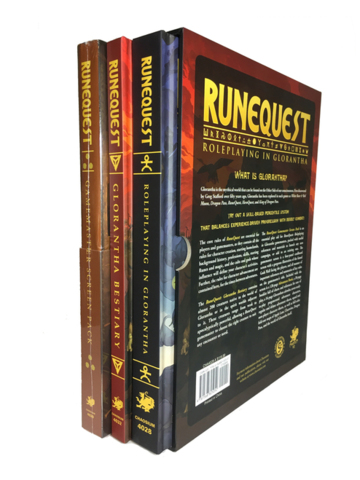 Runequest - Roleplaying in Glorantha Deluxe Slipcase