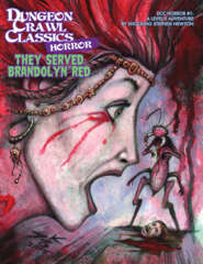 DCC Horror - #1 They Served Brandolyn Red