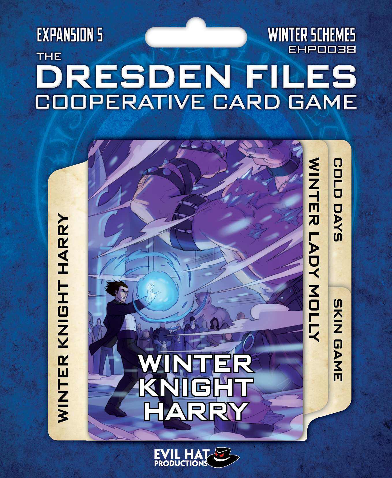 Dresden Files - Cooperative Card Game - Expansion 5 - Winter Schemes