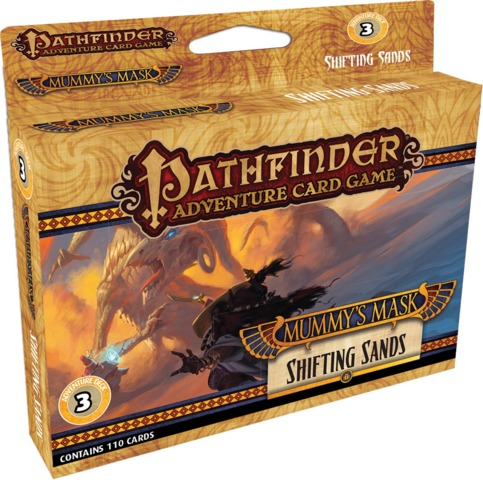pathfinder adventure card game mummy s mask shifting sands