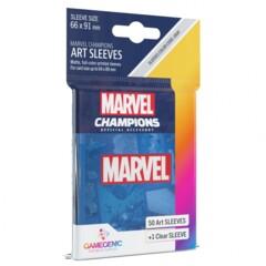 G10106 - Marvel Champions Art Sleeves - Marvel Blue