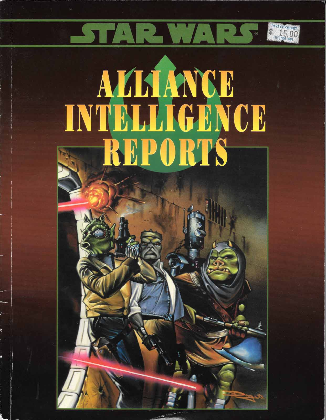 Star Wars RPG Alliance Intelligence Reports
