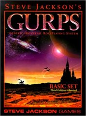 GURPS Basic Set Revised SJG 3E Softcover