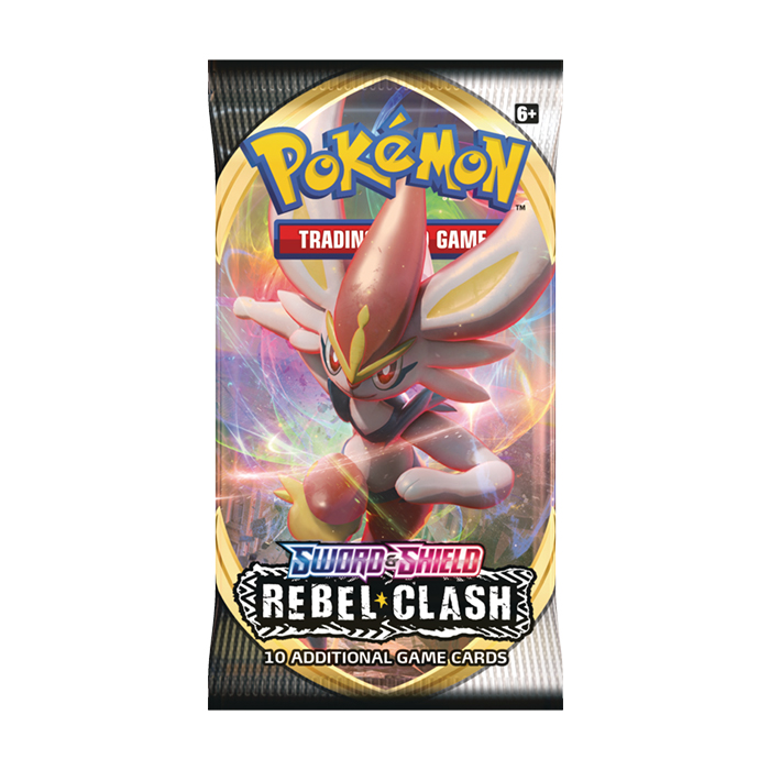 Sword & Shield - Rebel Clash Booster Pack