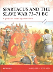 Spartacus and the Slave War 73-71 BC (Cam 206)