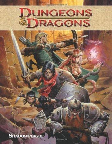 D&D - Shadowplague Hardcover Graphic Novel