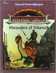 AD&D 2E Dark Sun Marauders of Nibenay Box 2424