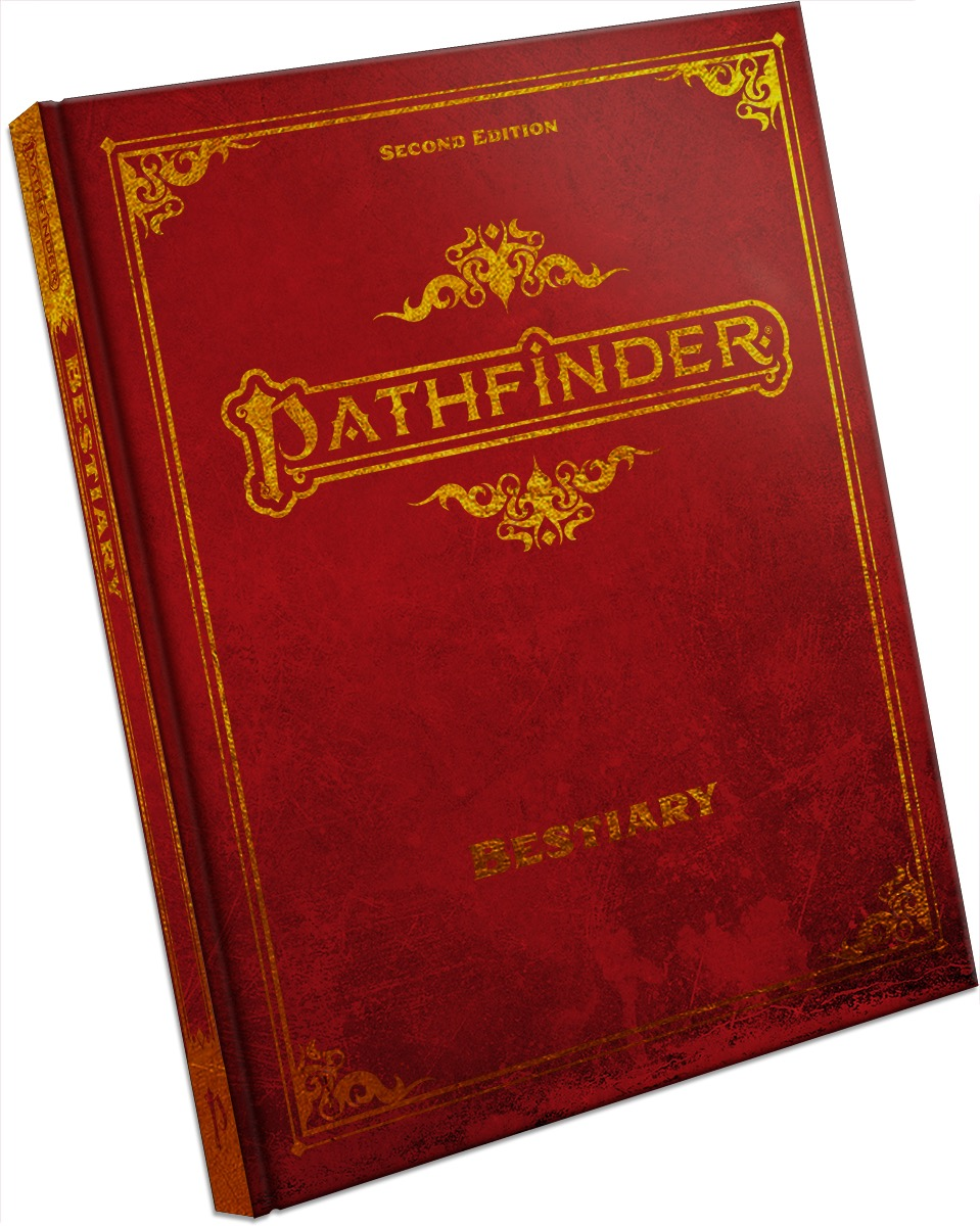 Pathfinder 2E - Bestiary Special Edition