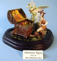 EN 2130 - Adventure Begins Jonquil, Dragon & Chest 10th Anniversary