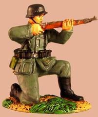 Conte German Wehrmacht KNEELING FIRING #CCC5 NIB