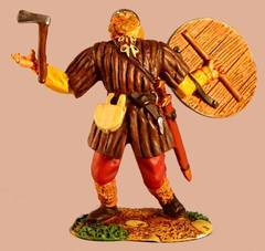 Conte Collector Club  WOUNDED VIKING #CCC6 54mm