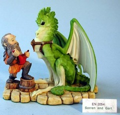 EN 2054 - Soren and Grant (Carrier Dragon and Dwarf)