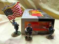 ACW57114 Iron Brigade w/ Flagbearer
