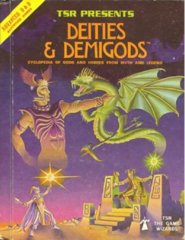 AD&D 1E - Deities & Demigods 2013HC  (1st Printing 1980)