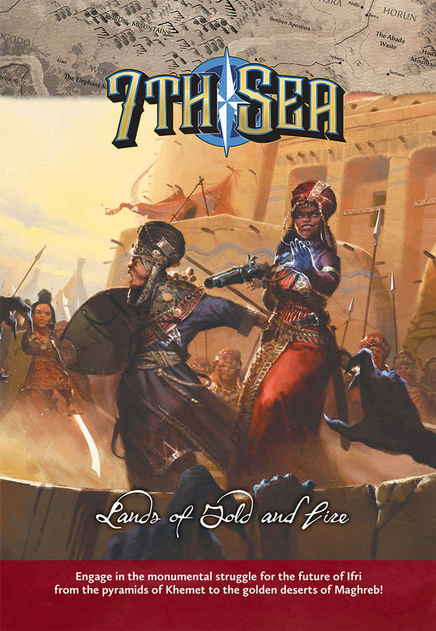 7th Sea - Lands of Gold and Fire