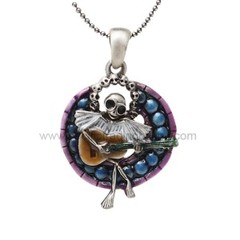 Skelly Choir Necklace Misty Benson J264