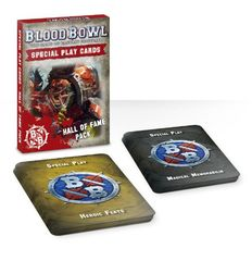 Blood Bowl Special Play Cards - Hall Of Fame Pack