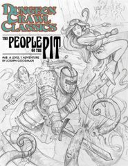 DCC #75 The People of the Pit Sketch Variant