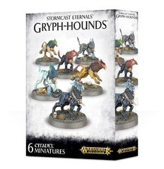 Stromcast Eternals Gryph-Hounds