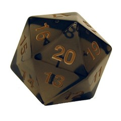 55mm D20 Smoke Gold